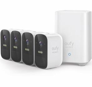 EUFY EUFY CAM 2C WIRE FREE FULL-HD SECURITY 4 CAM SET