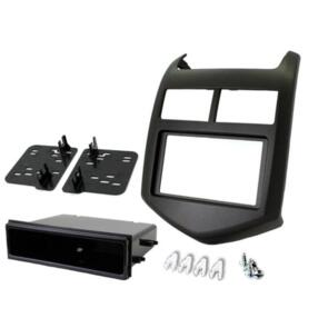 CONNECTS 2 FITTING KIT HOLDEN BARINA 2011 - 2016 DIN & DOUBLE DIN DARK GREY