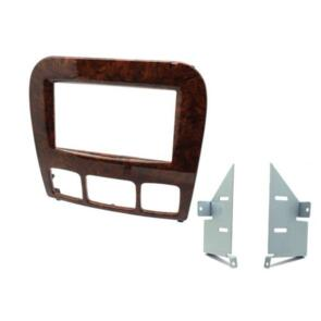 CONNECTS 2 FITTING KIT MERCEDES S-CLASS 1998 - 2005 DOUBLE DIN (WOOD GRAIN)