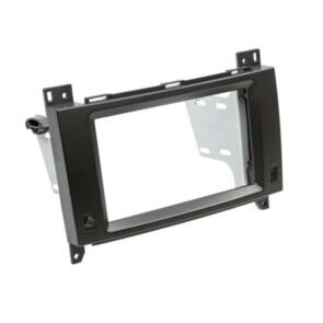 CONNECTS 2 DOUBLE DIN BLACK WITH BRACKETS