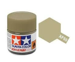 TAMIYA XF55 ACRYLIC 10ML DECK TAN