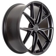 FORUM WHEELS CHARGER MATT BLACK