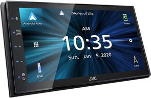 JVC KW-M560BT CARPLAY + ANDROID AUTO HEAD UNIT