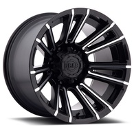 GEAR SLED SATIN BLACK MACHINED SPOKE