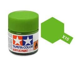 TAMIYA X15 ACRYLIC 10ML LIGHT GREEN