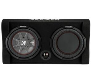 "KICKER COMPRT 10"" DOWN FIRING SUBWOOFER 2 OHM 400W RMS"