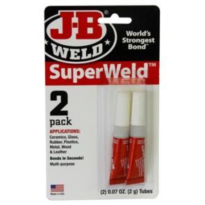 HYPER DRIVE SUPERWELD SUPER GLUE 2G PK2