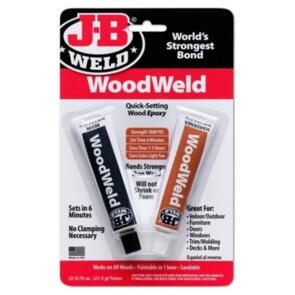 HYPER DRIVE WOODWELD EPOXY TWIN 21.5GR TUBES