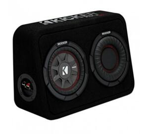 "KICKER COMPRT 6.75"" SUBWOOFER ENCLOSURE 150W"