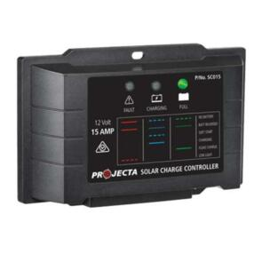 PROJECTA SOLAR CONTROLLER 15A 12V 4 STAGE