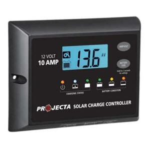 PROJECTA SOLAR CONTROLLER 10A 12V 4 STAGE