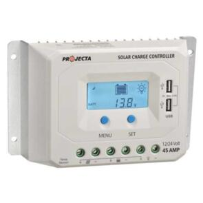PROJECTA SOLAR CONTROLLER 12/24V 45A 4 STAGE