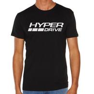 HYPER DRIVE LOGO TEE BLACK
