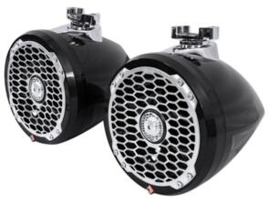 ROCKFORD FOSGATE PM2652W-MB PUNCH SERIES WAKE TOWER SPEAKERS