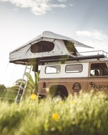 FELDON SHELTER CROW'S NEST EXTENDED ROOFTOP TENT - GREY