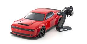 KYOSHO INFERNO VE 1/8 DODGE CHALLENGER DEMON (EP) RED