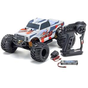 KYOSHO MONSTER TRACKER 2.0 RED (INC BATTERY & CHARGER)