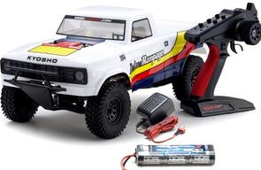 KYOSHO OUTLAW RAMPAGE 1/10 (INC BATTERY & CHARGER) WHITE