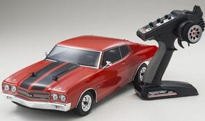 KYOSHO FAZER VEI CHEVELLE SS (INC BATTERY & CHARGER) RED
