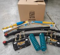 "LIFT JUNKIE COLORADO DMAX 2"" KIT INCL SHOCKS + COILS + LEAFS"