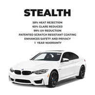 LLUMAR STEALTH SERIES WINDOW TINT
