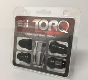 TORQ 12X1.25 LOCK NUTS