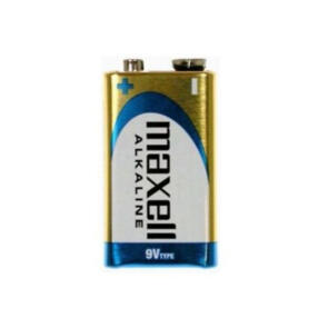 MAXELL ALKALINE BATTERY 9V 1 PACK BLISTER