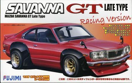 FUJIMI 1/24 MAZDA RX3 GT RACING