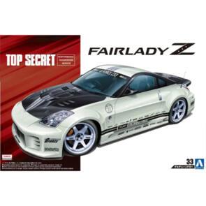 AOSHIMA 1/24 Z33 FAIRLADY Z 2005 TOP SECRET