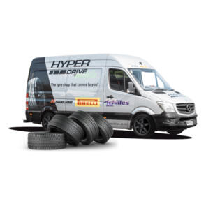 HYPER DRIVE MOBILE FITTING AND BALANCING SPECIAL $19.99