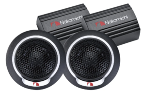NAKAMICHI 13MM 100W TWEETERS PAIR WITH CROSSOVER