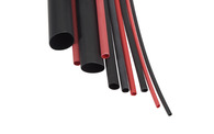 NARVA HEAT SHRINK TUBING BLACK 6.4MM X 1.2M