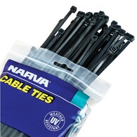 NARVA CABLE TIE STAINLESS STEEL 4.6X360MM (50 PACK)