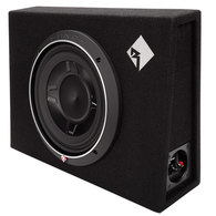 "ROCKFORD FOSGATE P3S-1X10 PUNCH SERIES 10"" SLIM BOXED SUB"