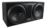 "ROCKFORD FOSGATE P1-2X12 DUAL PUNCH SERIES 12"" SUBS + SLOTPORT BOX"