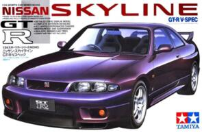 TAMIYA 1/24 NISSAN SKYLINE GTR V-SPEC R33