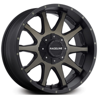 RACELINE SHIFT SATIN BLACK DARK TINT