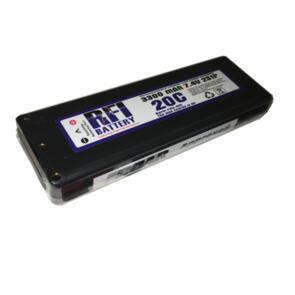 RFI LI-PO BATTERY 7.4V 3300MAH 2S 40C DEANS