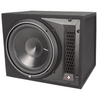 "ROCKFORD FOSGATE P3-1X12 PUNCH SERIES 12"" LOADED ENCLOSURE 600W RMS"