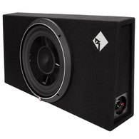 "ROCKFORD FOSGATE P3S-1X12 PUNCH SERIES 12"" SLIM BOXED SUB 400W RMS"
