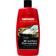 MOTHERS CARNAUBA CLEANER WAX LIQUID 473ML