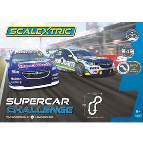 SCALEXTRIC C1400 V8 SUPERCAR CHALLENGE SET - SVG VS LOWNDES