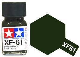 TAMIYA XF61 ENAMEL DARK GREEN