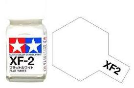 TAMIYA XF2 ENAMEL FLAT WHITE