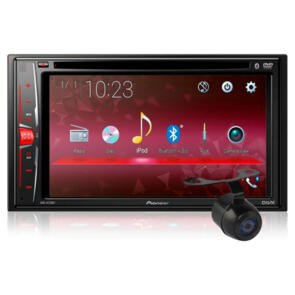 PIONEER AVH-A215BT HEAD UNIT + REVERSE CAMERA PACKAGE