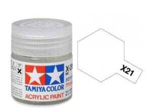 TAMIYA X21 ACRYLIC 10ML FLAT BASE