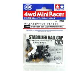 TAMIYA MINI 4WD STABILIZER BALL BLACK & WHITE