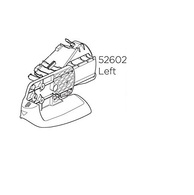 THULE P52602 LAMP FRAME LH VELOCOMPACT 925