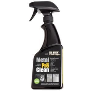 FLITZ METAL PRE CLEANER INDUSTRIAL STRENGTH 473ML BOTTLE