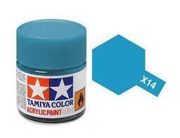 TAMIYA X14 ACRYLIC 10ML SKY BLUE
